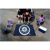 FANMATS MLB - Seattle Mariners Tailgater Rug 5'x6'