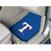 """FANMATS MLB - Texas Rangers 2-piece Carpeted Car Mats 17""""x27"""""""