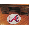 "FANMATS MLB - Atlanta Braves Baseball Mat 27"" diameter"