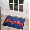 "FANMATS MLB - Atlanta Braves Starter Rug 19""x30"""