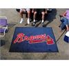 FANMATS MLB - Atlanta Braves Tailgater Rug 5'x6'