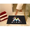 "FANMATS MLB - Miami Marlins All-Star Mat 33.75""x42.5"""