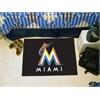 "FANMATS MLB - Miami Marlins Starter Rug 19""x30"""