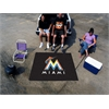 FANMATS MLB - Miami Marlins Tailgater Rug 5'x6'