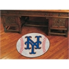 "FANMATS MLB - New York Mets Baseball Mat 27"" diameter"