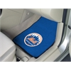 "FANMATS MLB - New York Mets 2-piece Carpeted Car Mats 17""x27"""