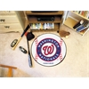 "FANMATS MLB - Washington Nationals Baseball Mat 27"" diameter"