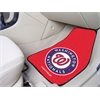 "FANMATS MLB - Washington Nationals 2-piece Carpeted Car Mats 17""x27"""