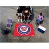 FANMATS MLB - Washington Nationals Tailgater Rug 5'x6'
