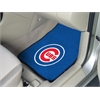 "FANMATS MLB - Chicago Cubs 2-piece Carpeted Car Mats 17""x27"""
