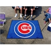 FANMATS MLB - Chicago Cubs Tailgater Rug 5'x6'