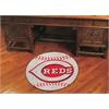 "FANMATS MLB - Cincinnati Reds Baseball Mat 27"" diameter"