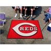 FANMATS MLB - Cincinnati Reds Tailgater Rug 5'x6'