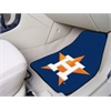 "FANMATS MLB - Houston Astros 2-piece Carpeted Car Mats 17""x27"""