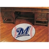 "FANMATS MLB - Milwaukee Brewers Baseball Mat 27"" diameter"