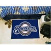 "FANMATS MLB - Milwaukee Brewers Starter Rug 19""x30"""