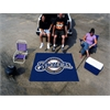 FANMATS MLB - Milwaukee Brewers Tailgater Rug 5'x6'
