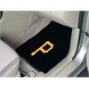 "FANMATS MLB - Pittsburgh Pirates 2-piece Carpeted Car Mats 17""x27"""