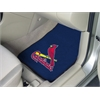 "FANMATS MLB - St. Louis Cardinals 2-piece Carpeted Car Mats 17""x27"""