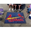 FANMATS MLB - St. Louis Cardinals Tailgater Rug 5'x6'
