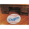 "FANMATS MLB - Los Angeles Dodgers Baseball Mat 27"" diameter"