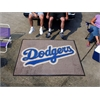 FANMATS MLB - Los Angeles Dodgers Tailgater Rug 5'x6'