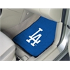 """FANMATS MLB - Los Angeles Dodgers 2-piece Carpeted Car Mats 17""""x27"""""""