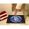 "FANMATS MLB - San Diego Padres All-Star Mat 33.75""x42.5"""