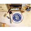 "FANMATS MLB - San Diego Padres Baseball Mat 27"" diameter"
