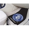 "FANMATS MLB - San Diego Padres 2-piece Carpeted Car Mats 17""x27"""