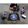 FANMATS MLB - San Diego Padres Tailgater Rug 5'x6'