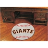 "FANMATS MLB - San Francisco Giants Baseball Mat 27"" diameter"