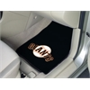 "FANMATS MLB - San Francisco Giants 2-piece Carpeted Car Mats 17""x27"""