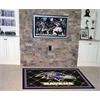 FANMATS NFL - Baltimore Ravens Rug 5'x8'