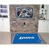 FANMATS NFL - Detroit Lions Rug 5'x8'