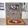 FANMATS NFL - San Francisco 49ers Rug 5'x8'