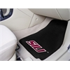 """FANMATS Southern Illinois 2-piece Carpeted Car Mats 17""""x27"""""""