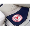 "FANMATS MLB - Boston Red Sox 2-piece Carpeted Car Mats 17""x27"""