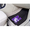 "FANMATS Northwestern 2-piece Carpeted Car Mats 17""x27"""
