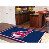 FANMATS MLB - Cleveland Indians Rug 5'x8'