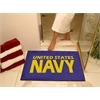 """FANMATS Navy All-Star Mat 33.75""""x42.5"""""""