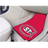 "FANMATS St. Cloud State 2-piece Carpeted Car Mats 17""x27"""