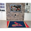 FANMATS MLB - St. Louis Cardinals Rug 5'x8'