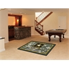 FANMATS Army Rug 4'x6'