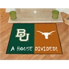 "FANMATS Baylor - Texas House Divided Rugs 33.75""x42.5"""