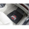 "FANMATS Ohio State Heavy Duty 2-Piece Vinyl Car Mats 17""x27"""