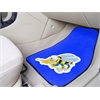 "FANMATS Navy 2-piece Carpeted Car Mats 17""x27"""