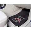 "FANMATS Indianapolis 2-piece Carpeted Car Mats 17""x27"""