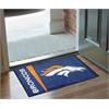 """FANMATS NFL - Denver Broncos Uniform Inspired Starter Rug 19""""x30"""""""