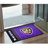 "FANMATS NFL - Baltimore Ravens Uniform Inspired Starter Rug 19""x30"""